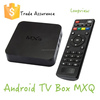 MXQ Amlogic S805 Quad Core Xbmc Tv Box Android 4.4 Kitkat top set tv box 1GB8GB