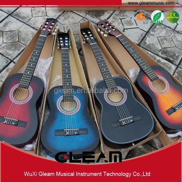 34 Inch Classic Guitar For Children Basswood