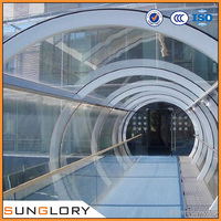 HOT! offer Curved Laminated Glass Price for Building Projects