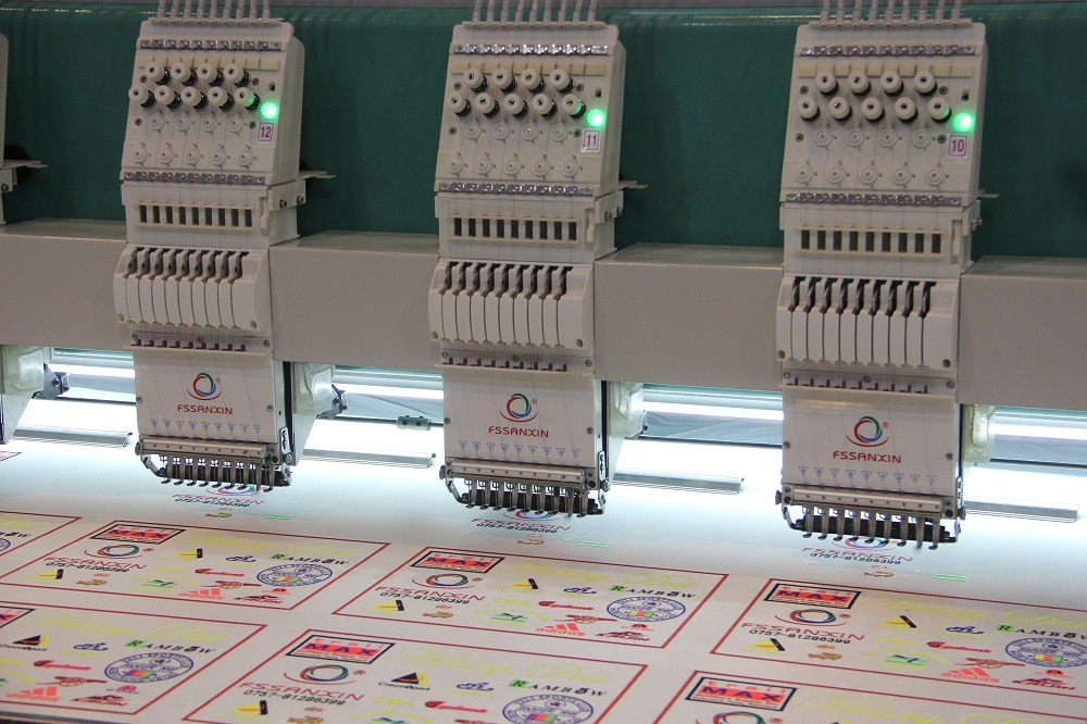 flat computerized embroidery machine 924 flat automatic high speed embroidery machine