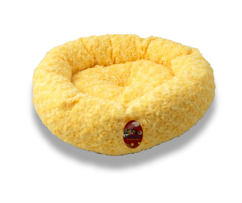 High Quality Colorful Round Cat Bed