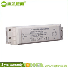 Competitive price Customized led driver 500ma 30w,led driver 50w power supply 1500ma,50 w constant current led driver