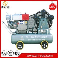 2016 small air compressors for gold mining