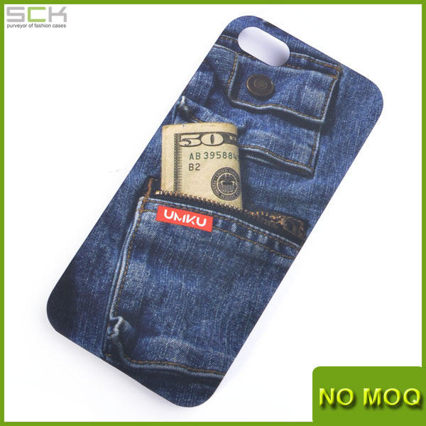 COVER FOR IPHONE5/5S JEAN SCRATCHPROOF MATT HARD PHONE CASE SNAP ON