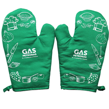 Get $100 coupon cotton oven gloves and pot holder