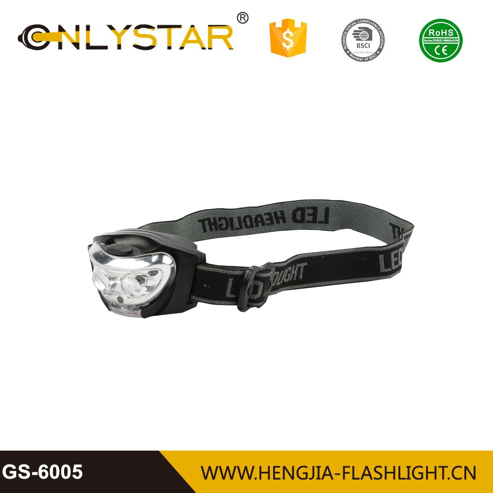 outdoor camping AAA battery portable light weight headlamp led high power discount headlights