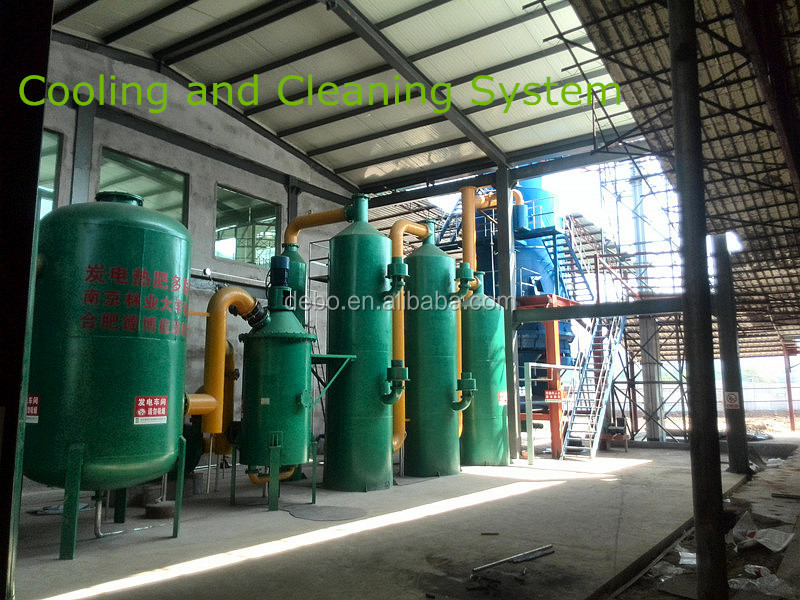 CE Approved MSW to electricty fluidized bed Msw gasifier biomass gasification system