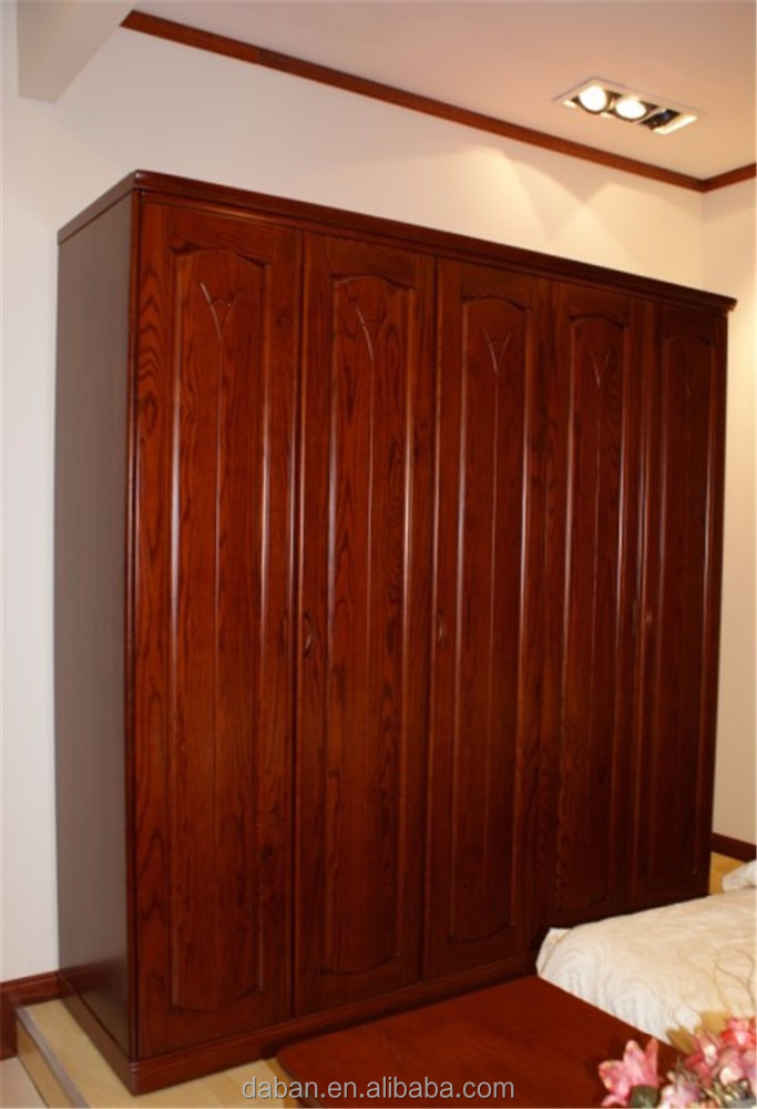 wooden 3 doors clothing armoire wardrobe closet cheap. Black Bedroom Furniture Sets. Home Design Ideas
