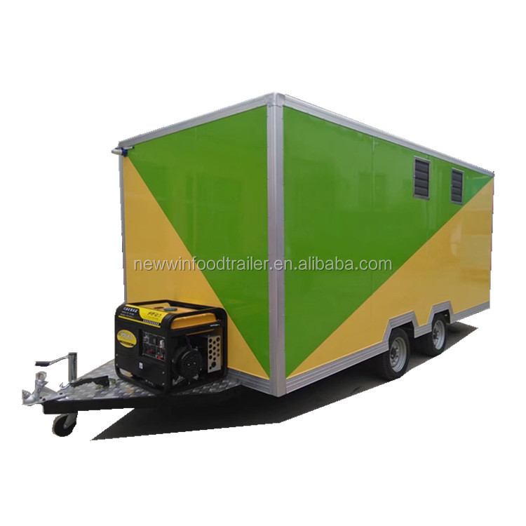 CE approved mobile coffee kiosk food trailer truck