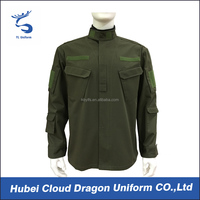 Male tactical clothing army green military jacket security uniforms design