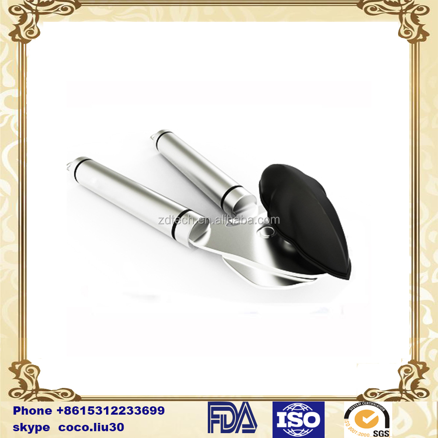 Quick & Effortless Manual Can Opener - Strong Stainless Steel Opener for Smooth Edge Perfect as a Kitchen or Re ZD20160302 S12