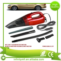 INCVC-6131 Blow Cleaner And Vacuum Clean Function 12V 85W Car Auto Car Vacuum Cleaner