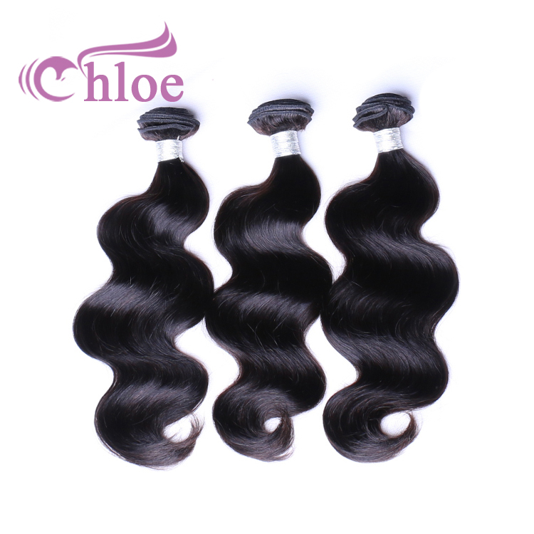 "Fast shipping 10A Peruvian Virgin Hair Body Wave Bundles Natural Black Color 100% Human Hair Weaving 10"" to 30"""