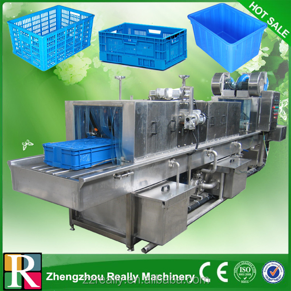 high efficiency automatic plastic crate washer for sale