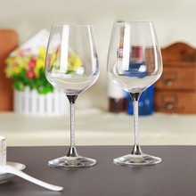 SH-Crystal glassware set Red wine glass drinking White wine glass Drinkware Various Colored Glass Wine Bottle For home Party Use