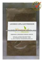 Halal Licorice Root (Glycyrrhiza Glabra) 20% Extract