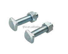 China HUAZHEN Top Post Battery Terminal Bolts and Nuts, 2-Pack, Chrome, 6 and 12-Volt