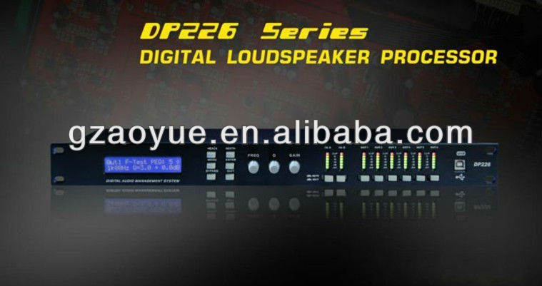 digital dsp audio processor