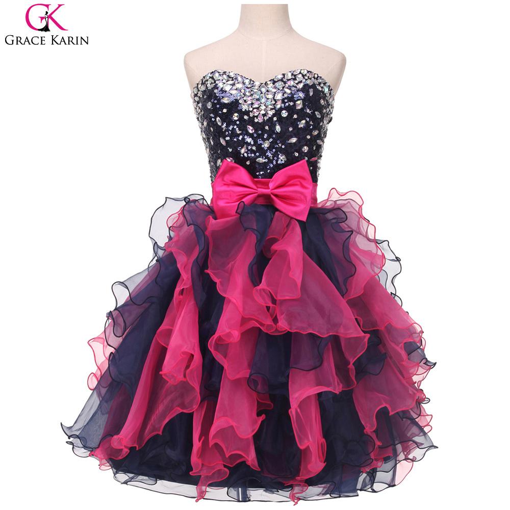 Cheap Short Black Dress Prom, find Short Black Dress Prom deals on ...