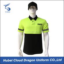 Wholesale security guard uniform mens polo shirt police