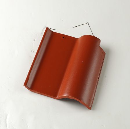 High quality cheap price synthetic spanish clay curved roof tile