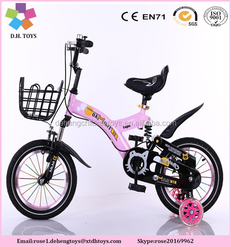 2016 Bike for Children China Factory Direct-sale Bike for Baby Super Kids Bicycle
