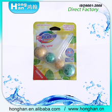 Keep Air Dry Fresh Lasting Scent Safe 50g*4 portable blue toilet deodorizer ball