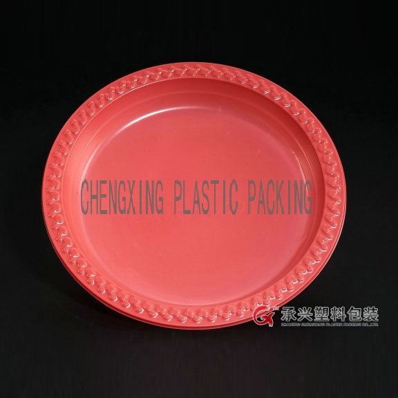 ChengXing brand hips pp disposable plastic pizza tray