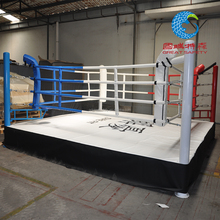 standard quality competition floor boxing ring used for sale