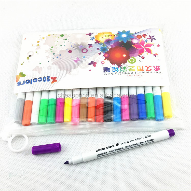 high quality permanent fabric marker with custom logo