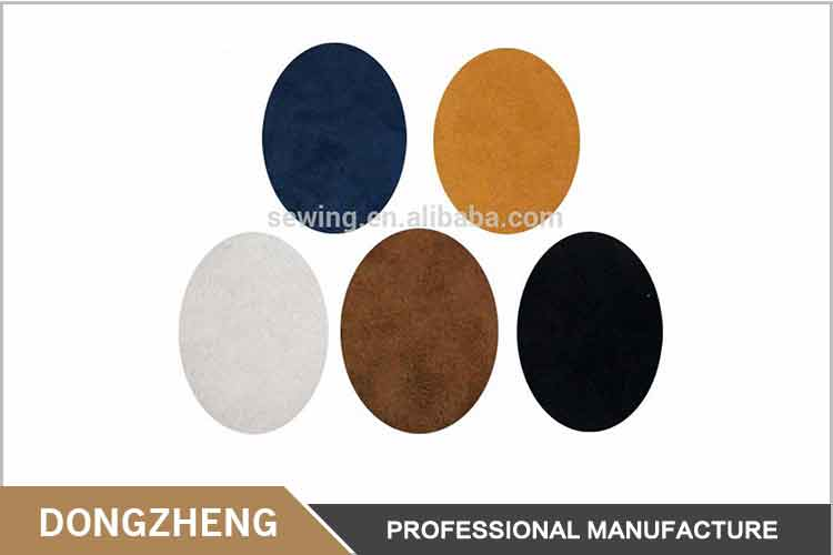 Artificial Leather Patches Iron On Patch Repair Elbow Knee For Clothing Accessories