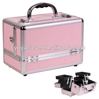 Professional Pink Makeup Case