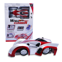 2016 Hot selling rc mini wall climbing cars electric model car for kids