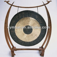 JSY-Hot sell Percussion musical instruments traditional Chinese gongs with wooden gong stand