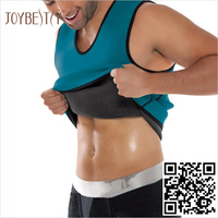 Premium Apparel Work out Weight Loss Neoprene Body Shaper Vest Gym Exercise Vest for Men