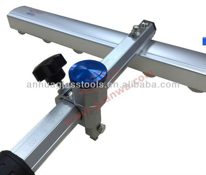 Cutting big glass glass cutter T shaped 1800mm length for big piece glass