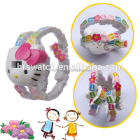 New products 2014 crystal case watches, hello kitty watches ladies,hello kitty watches
