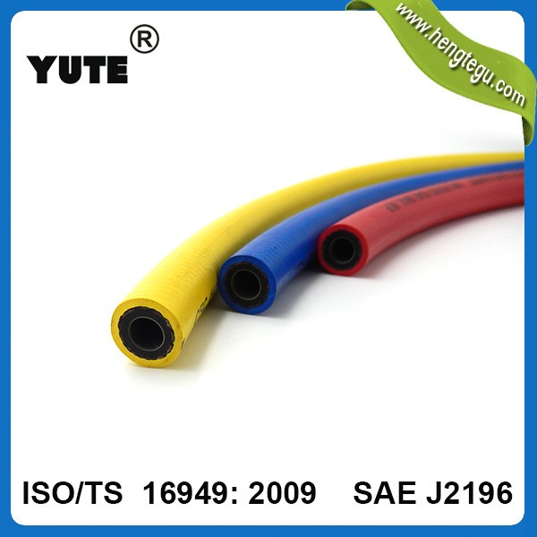 low permeability sae j30 r6 5/16 inch flexible hydraulic braided fuel hose