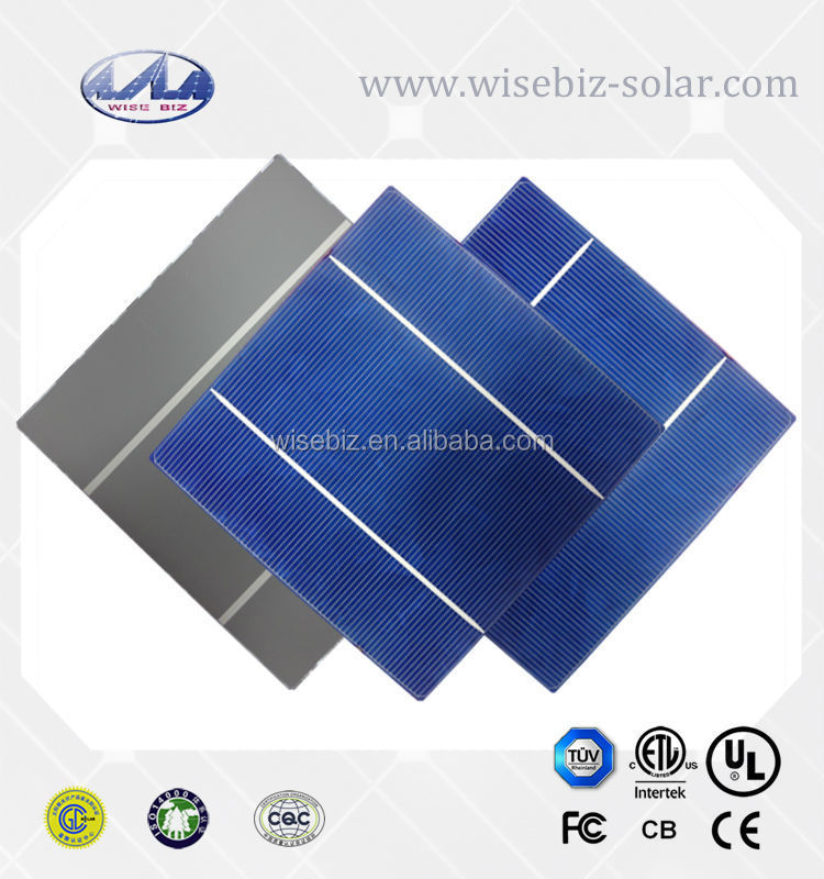 Poly crystalline Solar Panel with 6'' Solar Cells