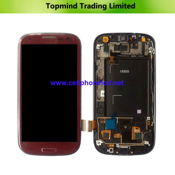 Mobile Phone Spare Parts For Samsung Galaxy S3 i9300 LCD Screen Display