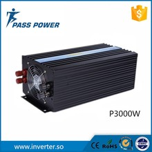 Perfect protection &High efficiency 3000W 48V DC to 220V AC Pure Sine Wave Off Grid Solar Cell Inverter