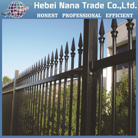 Security Spear Top Wrought Iron Residential fences