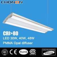 Aluminum 2x4ft 40w LED Ceiling Pendant