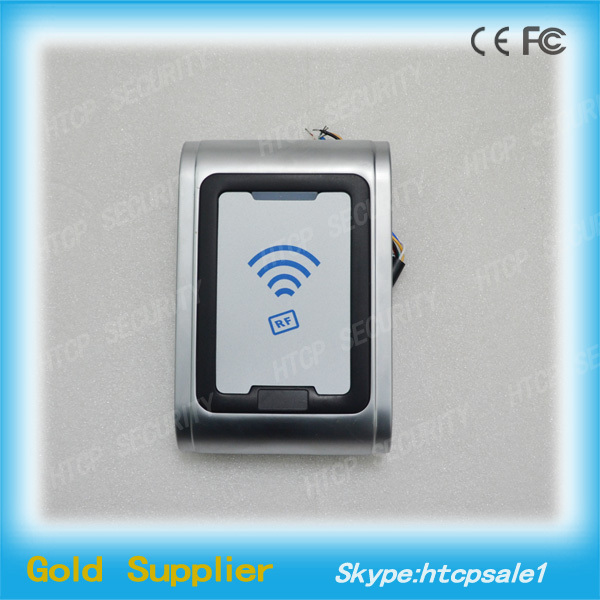 Metal Shell rfid proximity card reader wireless access control reader