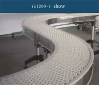 Plastic Modular Conveyor Belt Food Grad Belt Flat Top Conveyor Belt