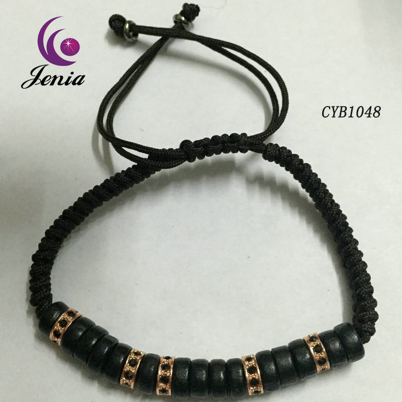 Jenia Wholesale Best Hot Sell Braid Bracelet,Diamond Inlay Popular Bracelet