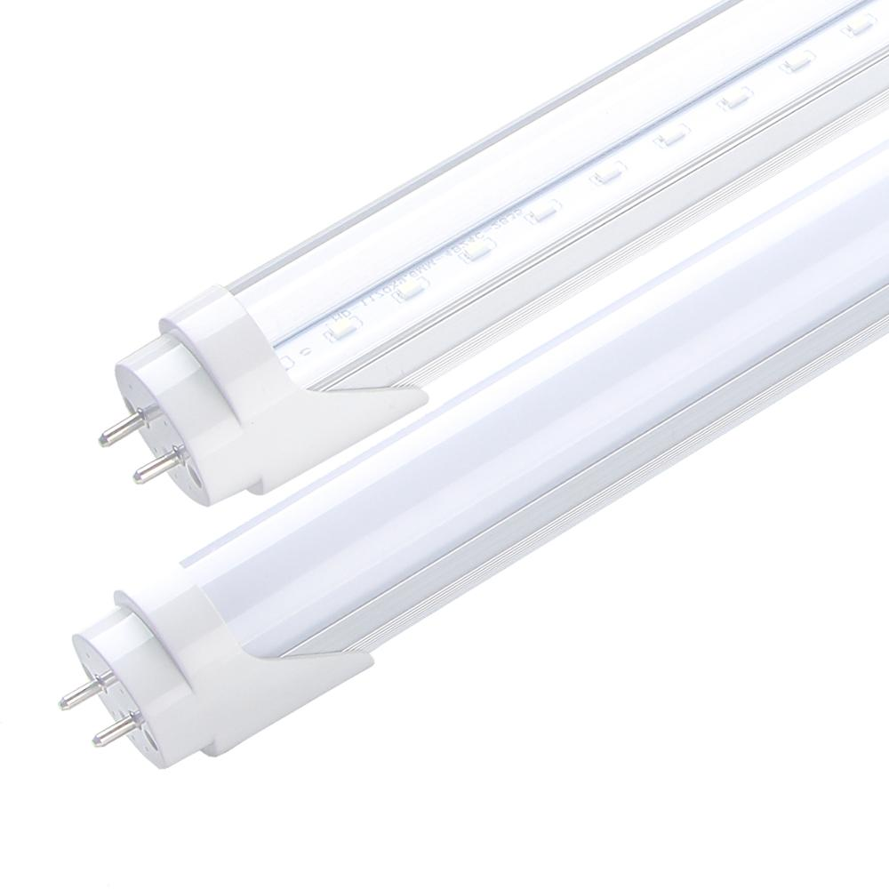 China hottest 1200mm 24w t8 110v dc integrated 12m 18w fluorescent tube nano plastic cover T8 integrated led tube light