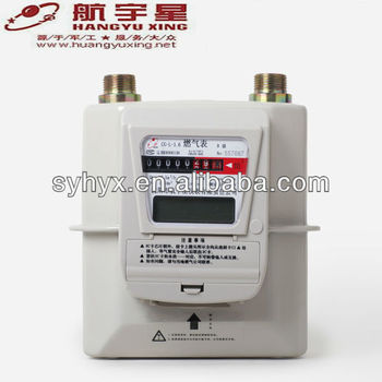 Smart IC Card Prepayment Steel Case Gas Meter G2.5