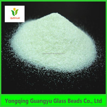 Clear blasting glass sand for blasting machine