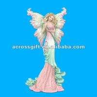 Decorative elegant resin fairy figurine collection